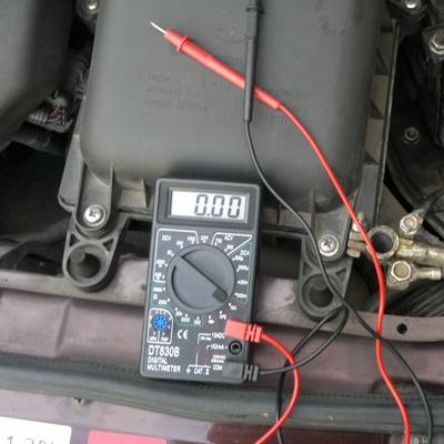 проверить уровень заряда аккумулятора