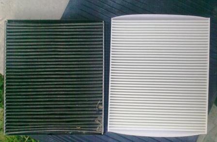 Салонный фильтр потеют стекла