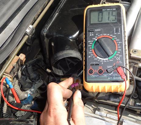 Диагностика электронной системы управления двигателем