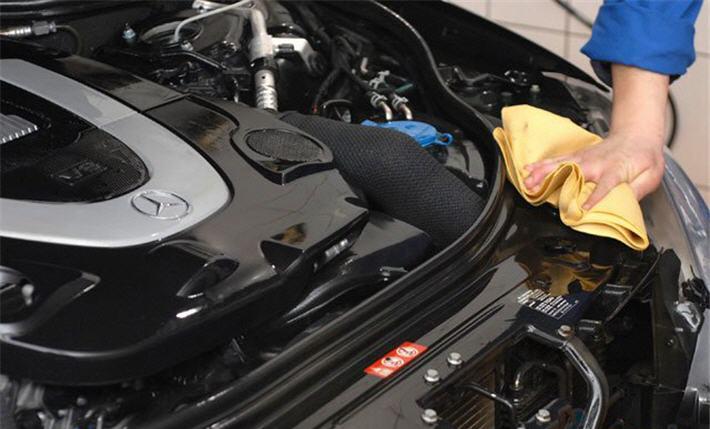Как мыть двигатель автомобиля своими руками:
