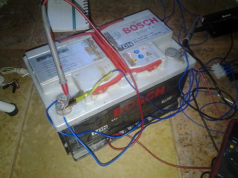 Как сделать десульфатация аккумулятора