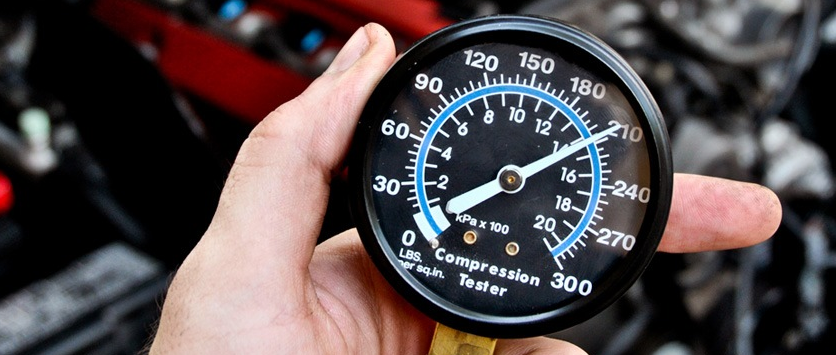 Прибор для измерения компрессии в цилиндрах
