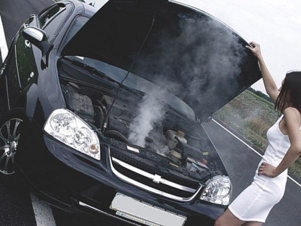 Перегрев двигателя: что делать