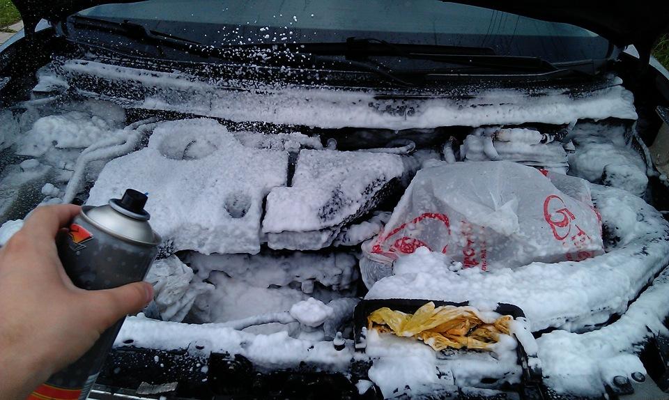 мыть двигатель автомобиля своими руками